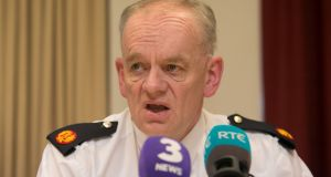 Assistant Garda Commissioner John O'Driscoll during a media briefing at the Special Crime Operations, Harcourt Square, Dublin. Photograph: Gareth Chaney/Collins