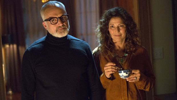 Bradley Whitford and Catherine Keener as Dean and Missy Armitage in Get Out. Photograph: Universal Pictures