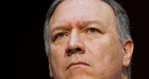 CIA director Mike Pompeo has been named as the new US secretary of state. Photograph: AP