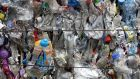 People and businesses across the European Union produce 58 million tonnes of plastic every year; more than 40 per cent of that total comes from packaging alone. Photograph: Dan Kitwood/Getty Images