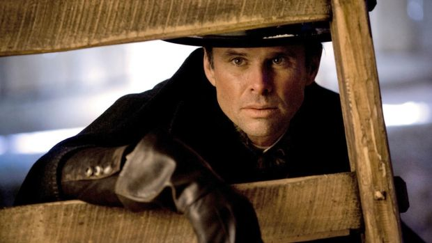 The Hateful Eight: Walton Goggins as Chris Mannix