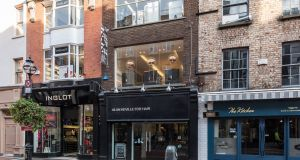Retail property at 2 South Anne Street, Dublin 2, currently occupied by Alan Keville For Hair