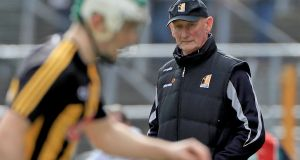 "Kilkenny manager Brian Cody: ""We lost both those games by three points. Which is obviously a small margin, to lose by, with a lot of inexperienced players.""  Photograph: Inpho"