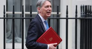 Britain's chancellor of the exchequer Philip Hammond: Often referred to as Eeyore, after the depressed donkey in Winnie-the-Pooh, but on Tuesday said he felt more like the irrepressible Tigger. Photograph: Daniel Leal-Olivas/AFP/Getty Images