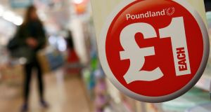 Steinhoff has more than 40 retail brands including Poundland, trading in Ireland as Dealz. Photograph: Stefan Wermuth/Reuters