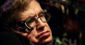 A May 5th, 2006, photograph of late British physicist Stephen Hawking. Photograph: AFP/Getty Images