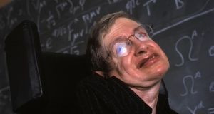 A Brief History of Time: Stephen Hawking in Cambridge in 2003. Photograph: In Pictures/Corbis via Getty