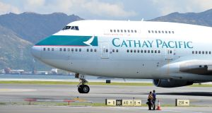 Cathay Pacific last year announced direct flights between Dublin and Hong Kong.