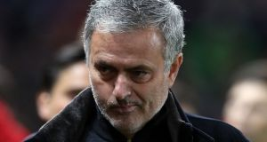 Manchester United manager Jose Mourinho will work as a pundit in Russia this summer. Photograph: PA