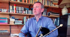 Liam O'Flynn: the uilleann-pipe virtuoso in 1998. Photograph: David Sleator