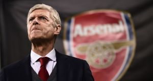 Arsenal manager Arsene Wenger will know that the Europa League is his team's best chance at qualifying for next year's Champions League. Photograph: Getty Images