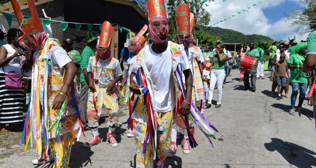 2984b6f0683 Montserrat's St Patrick's Day parade features dances that originated as a  form of expression to allow