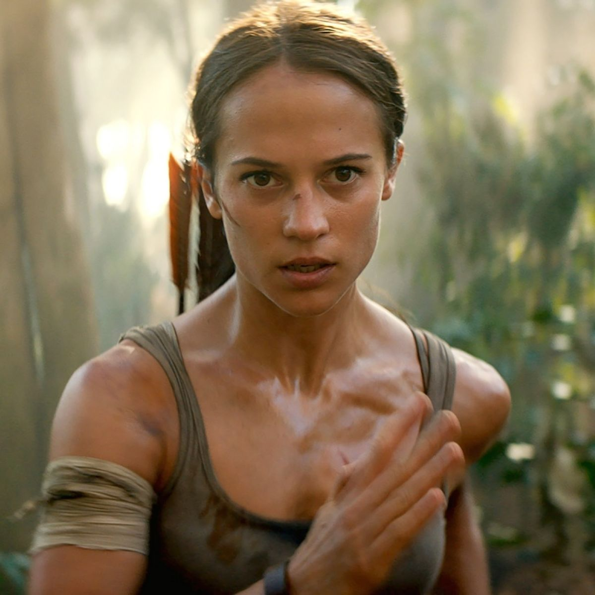 Alicia Vikander Ass tomb raider: stand upwind. it's the first stinker of 2018