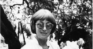 Author Val Mulkerns in 1984: she retained her passion for reading up to the end. Photograph: Peter Thursfield