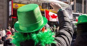 Montreal's  St Patrick's Day parade: 'You want to be Irish for a few hours? Sure, why not, I say.'