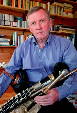 The piper Liam O Flynn photographed in 1998. Photograph: David Sleator / The Irish Times