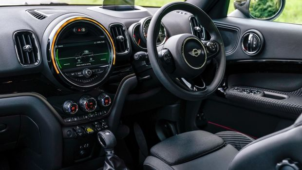 The Mini's build quality is excellent, and while the cabin's design and layout is a touch polarising, we like it.