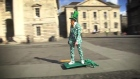 New student film features 'St Patrick' skateboarding through Dublin