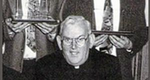Fr Malachy Finnegan: the late president of St Colman's College, Newry. Photograph: Pacemaker Belfast