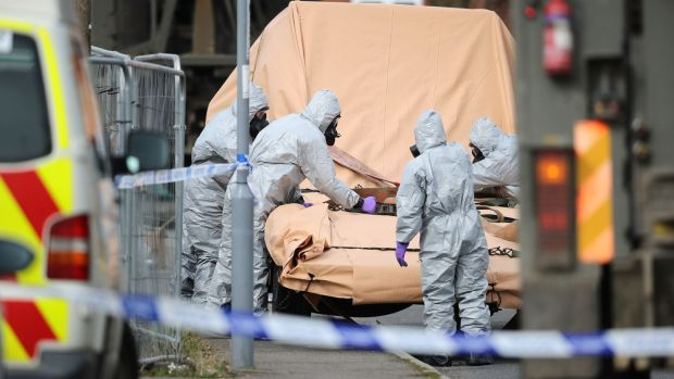 United Kingdom attack: nerve agent planted in suitcase of spy's daughter?