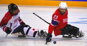 I've been sucked into the wonder of sled hockey at the Pyeongchang Winter Paralympic Games. Photograph: Jung Yeon-je/AFP/Getty Images