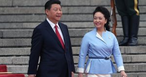 Chinese president Xi Jinping  and his wife Peng Liyuan: It's nearly three years since China formally lifted a ban on Irish beef exports to China imposed after the BSE crisis.