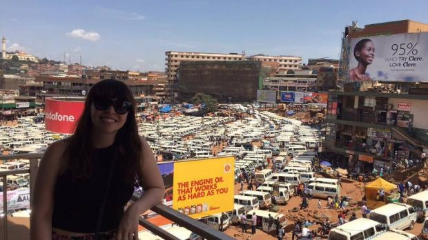 Éireann O'Sullivan sings along to Westlife in Kampala, Uganda, and is reminded of home.