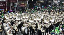 'The emotion is incredible': being in a St Patrick's parade marching band