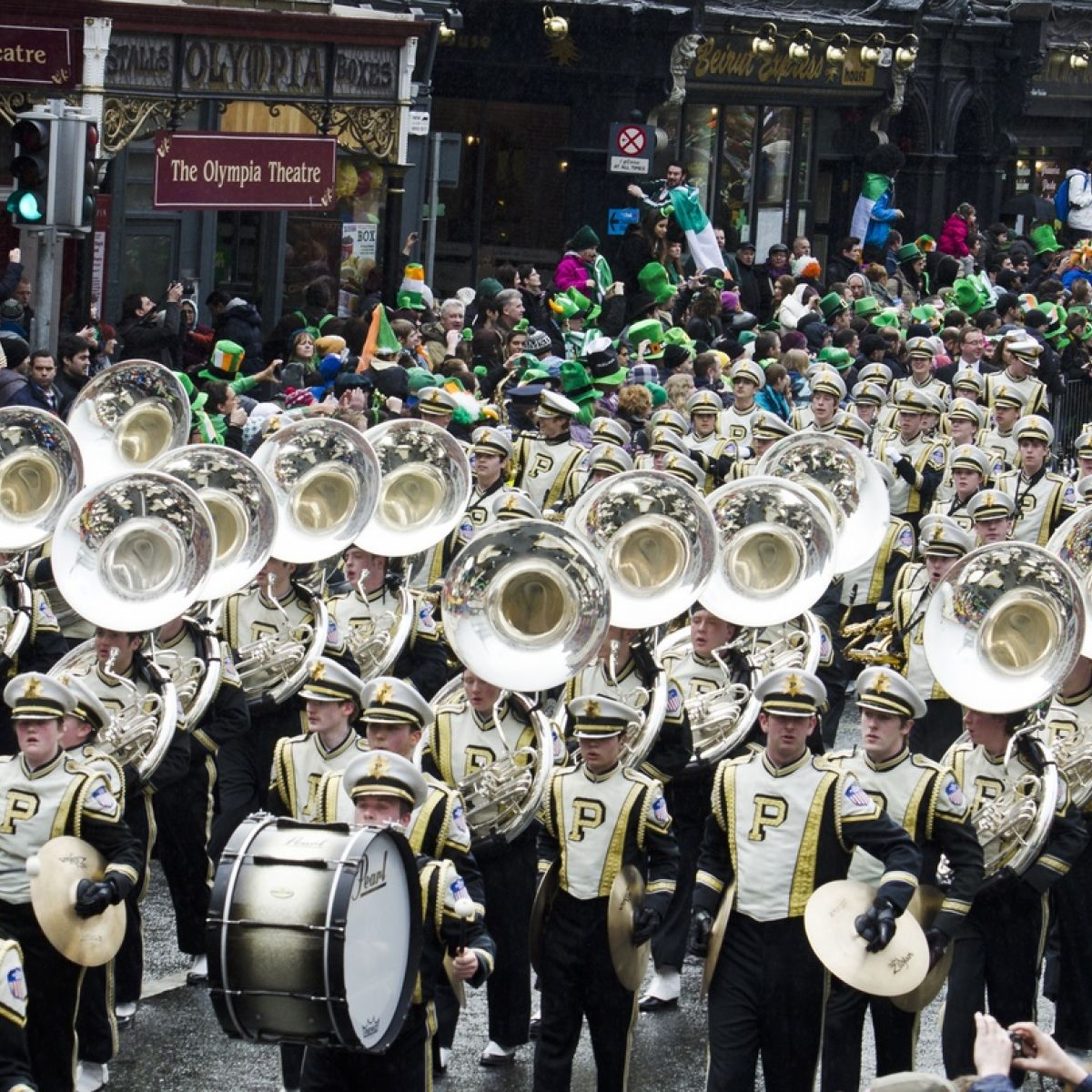 The emotion is incredible': being in a St Patrick's parade