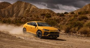 Lamborghini's SUV is a sell-out weeks after it is unveiled