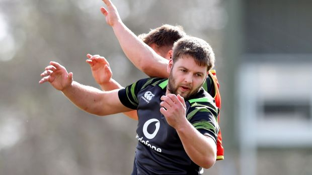 Iain Henderson returns to the Ireland XV. Photograph: Billy Stickland/Inpho