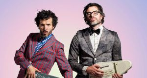 Flight of the Conchords: Bret McKenzie and Jemaine Clement. Photograph: Matt Grace