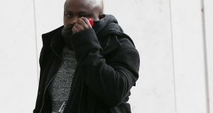 Prince Ajibola (50) pleaded guilty at Dublin Circuit Criminal Court to a single count of possessing the pornographic material. Photograph:  Collins Courts