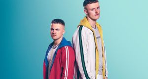 The Young Offenders: Connor MacSweeney (Alex Murphy) and Jock O'Keeffe (Chris Walley).  Photograph: Miki Barlok