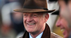 "Champion trainer Willie Mullins: his failing to win the Gold Cup has become ""a thing"". Photograph:  The Jockey Club/Cheltenham Racecourse"