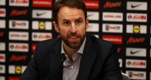 "Gareth Southgate: ""We're preparing to go to the World Cup – there's no doubt in our mind that's what we should be doing."" Photograph:  Catherine Ivill/Getty Images"