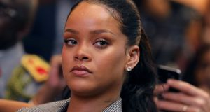 Rihanna:  accused Snapchat of shaming domestic abuse victims. Photograph: Marin/AFP,Getty Images