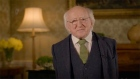 President Higgins sends St Patrick's Day greetings to Irish around the world