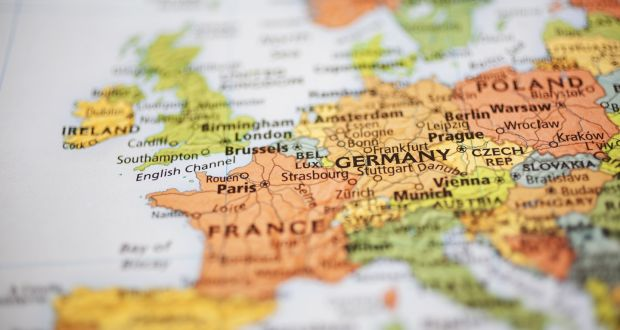 Where Is Germany On The Map Of Europe.Where Does Ireland Fit In Europe Now