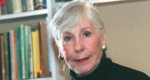 Miriam Gallagher: the writer and speech therapist in 1999. Photograph: Pat Langan