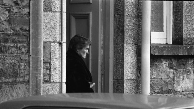 Ann Lovett's mother Patricia at the inquest into her death. Photograph: Getty Images/INM