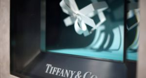 A Tiffany store in Beverly Hills, California: the jewellery group has suffered several quarters of declining sales. File photograph: Lucy Nicholson/Reuters