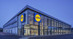 Lidl obtained planning permission in January for the development in Ballymun which will includes offices, two cafes, retail space and a 364-bed student accomodation scheme