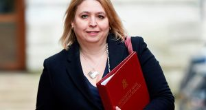 "Karen Bradley: ""The answer is for politicians who were elected by the people of Northern Ireland to get back into Stormont and run the executive."" Photograph: Niklas Halle'n/AFP/Getty Images"