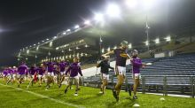 Wexford warm up ahead of their game with Tipperary last month. Photograph: Ken Sutton/Inpho