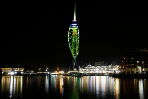 Emirates Spinnaker Tower, Portsmouth, England. Photograph: Tim Ireland