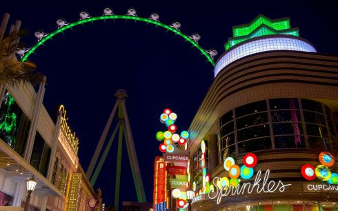 High Roller at the Linq Hotel, Las Vegas, US. Photograph: Mark Damon