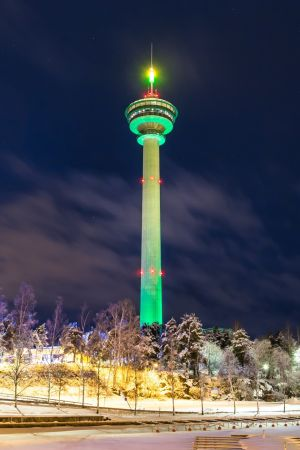 Näsinneula (observation tower) in Tampere, Finland. Photograph: Tourism Ireland