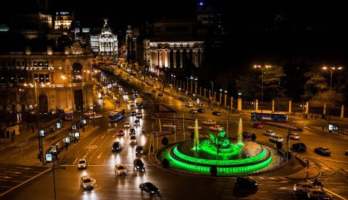 The Fuente de Cibeles or the Cibeles Fountain, Madrid. Photograph: David Mudarra