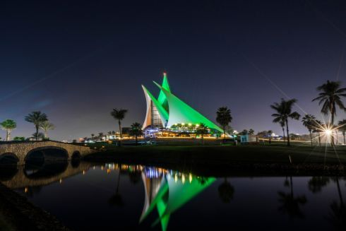 The Dubai Creek Golf & Yacht Club. Photograph: Tourism Ireland